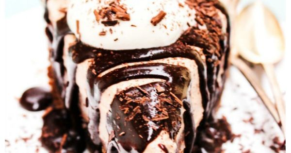 Mile High Chocolate Salted Caramel Cake Recipe
