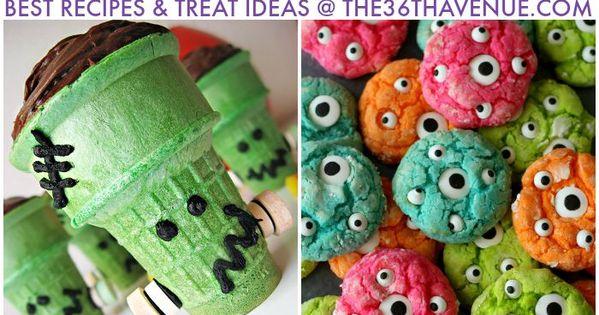DIY Halloween Treats and Recipes diy halloween treats recipes