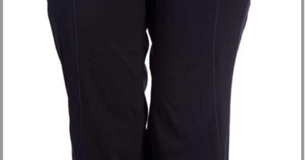Pantalon Ample Jambes Bouffantes Et Taille Lastique Dans Une Toile Paisse Pour Femme Ronde