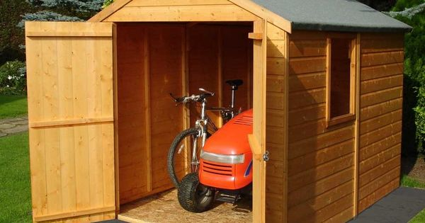 Mobility Scooter Bikes And Large Storage Shed Shed
