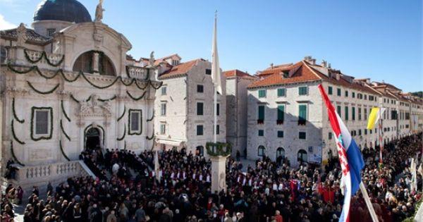 The Feast Of St Blasius Dubrovnik
