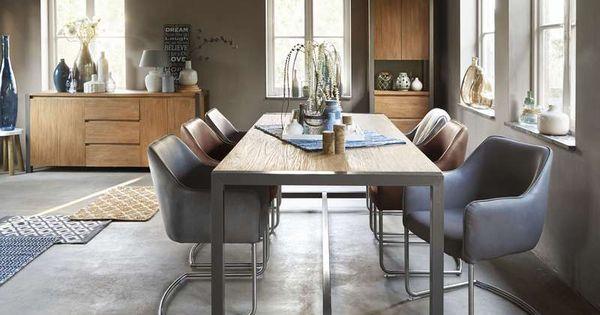 Eetstoel mezzo sfeervolle stoelen pinterest eettafel dressoir en ibiza - Eigentijdse eetkamer decoratie ...