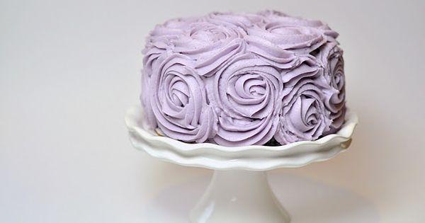 ... in ivory.. | L O V E | Pinterest | Cute cakes, Lilac wedding cake