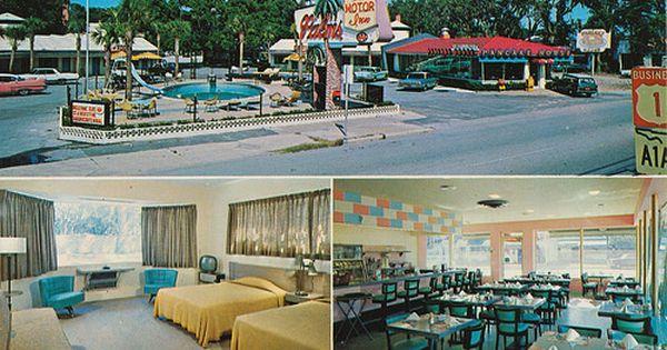 Palms Motor Inn Restaurant Pancake House St Augustine Florida St Augustine The Pancake House Hotel