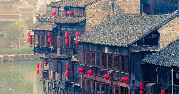 vacation travel photos - Fenghuang, Hunan, China