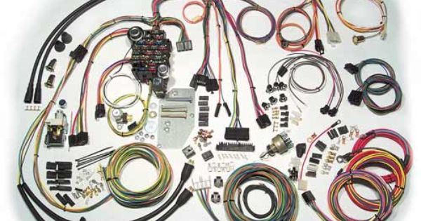 1957 Chevy Passenger Car Classic Update Series Complete Wiring Kit At Carolina Classic Trucks Chevy Classic Chevy Harness
