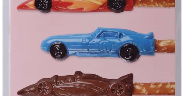 Wilton Pretzel Candy Molds - Race Cars - Craft Super Center