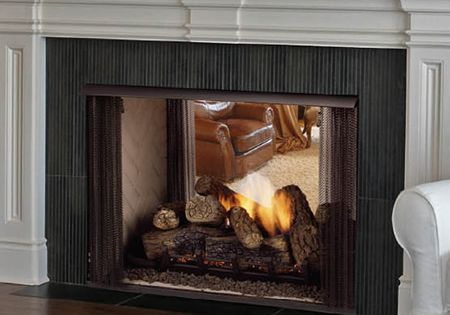 Lo Rider See Thru Vent Free Firebox Fireplaces Gas Inserts Fireplace