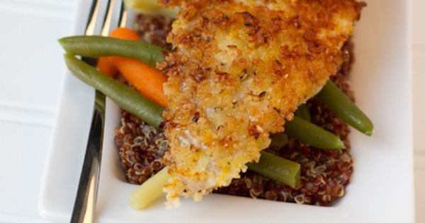 ThanksPanko crusted Flounder... always looking for new fish recipes ...