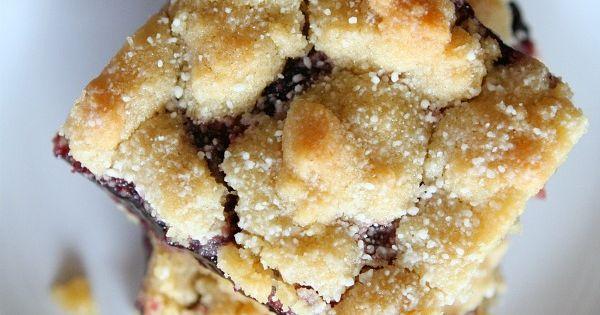 Shortbread bars, Blackberries and Bar on Pinterest