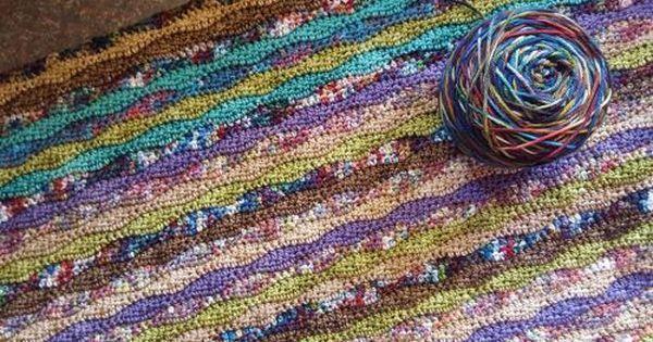 Moorland Blanket Cal Part 3 Attic24 Crochet Wave Pattern Blanket Crochet