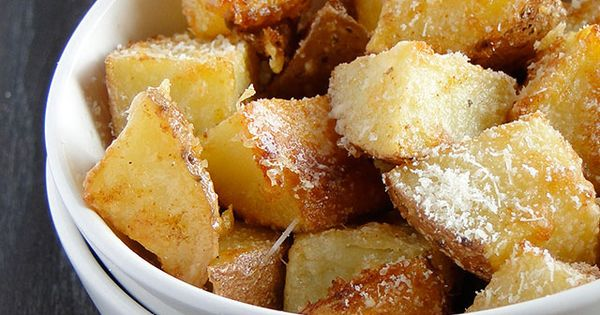 Parmesan Roasted Potatoes With only a few simple ingredients, these potatoes are