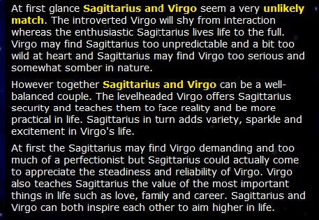 virgo relationship matches