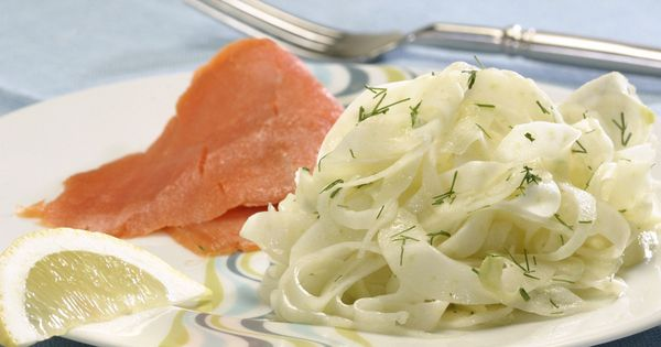 Shaved fennel salad with smoked salmon | Recipe | Fennel Salad, Smoked ...