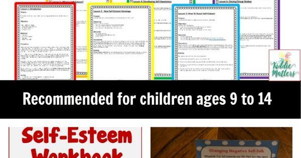 self esteem lesson plans pdf