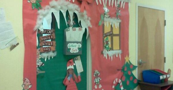 Santas workshop, Doors and Christmas on Pinterest