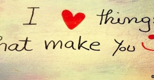 30 Love Quotes That Make You Smile: Quote+you+make+my+heart+smile