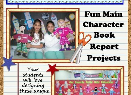Character Body Book Report - Directions