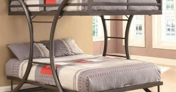 Double Decker Queen Size Bed Bunk Beds Pinterest