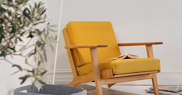 Inspiration un s jour esprit scandinave fauteuils for Sejour complet scandinave