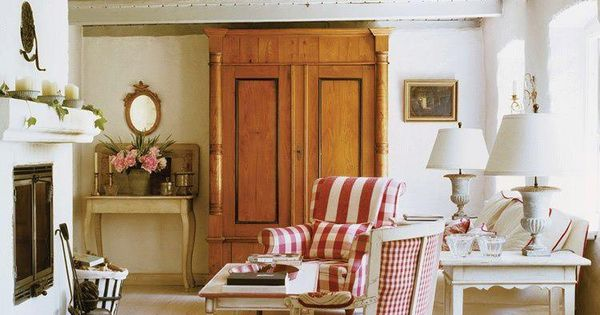 Cottage Living Room My Style Pinterest English Cottages Living