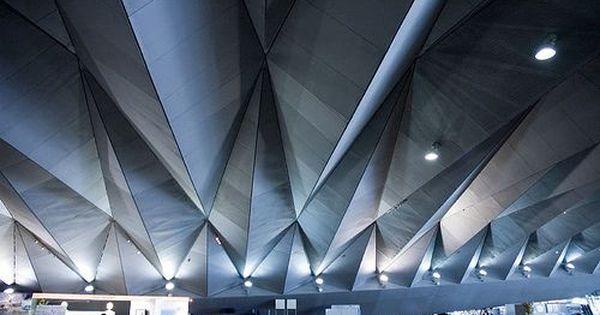 Interior Of Yokohama Port Terminal By Jietcomm Via Flickr Arsitektur