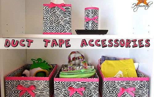 Duct Tape Projects great idea for kids rooms