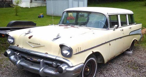 1957 chevy bel air wagon 4 door classic http for 1957 chevy wagon 4 door