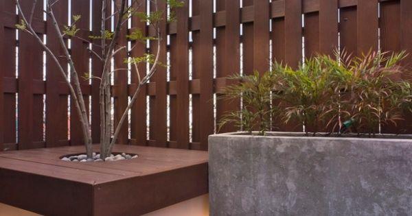 95 id es pour la cl ture de jardin palissade mur et brise vue d co et design for Cloture jardin contemporaine