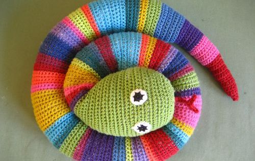 Amigurumi Yarn Michaels : Crochet Snake Gonna try to make one for William for Easter ...