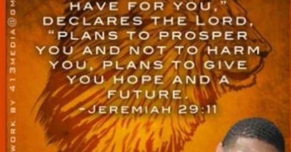 InkSpirations: Jeremiah 29:11 www.inkyjohnson.com ...