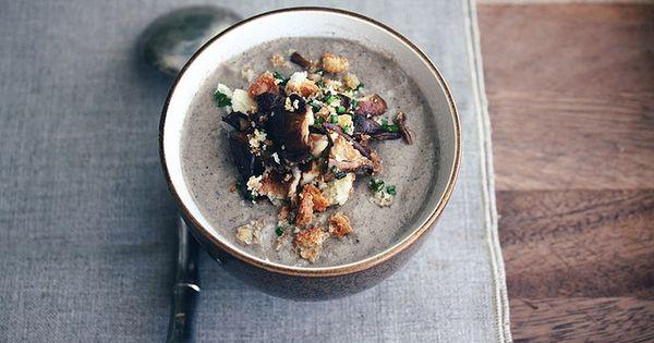 The Real Mushroom Soup   Temptations   Pinterest   Mushroom Soup ...