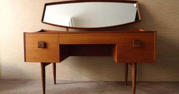 Teak dressing table things pinterest dressing for G plan bedroom furniture dressing tables