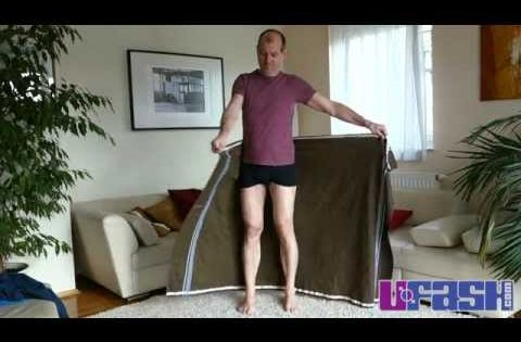 lungi oder sarong binden how to tie a lungi or sarong second version unisex lungis. Black Bedroom Furniture Sets. Home Design Ideas