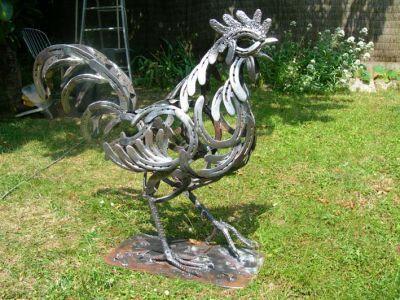 Sarl Olika Tornac Sculptures En Fer A Cheval Art Metal Soude Fer A Cheval Arbre Metallique