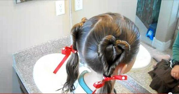 ハート型のツインテールが可愛過ぎてキュン バレンタインにマストな髪型はコレだ Hair Arrange Hair Styles Hair