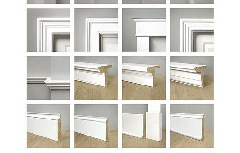Moldings crown baseboard door trim cottage and for Cottage style interior trim