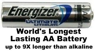How To Increase The Life Of Energizer L91 Aa Batteries Energizer Lithium Battery Battery