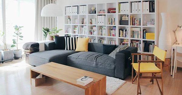 @studioym 님이 직접 디자인한 신혼집의 2번째 공간, 북카페 거실 ...