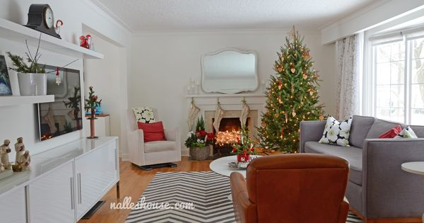 Christmas House Tour Dining And Living Room With Images L
