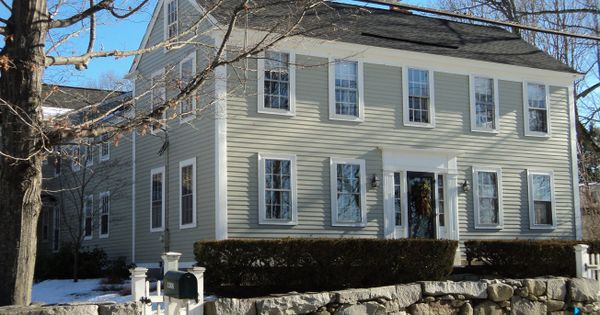 Nantucket Gray With White Trim House Dreams Pinterest Paint Colors Home And Colors