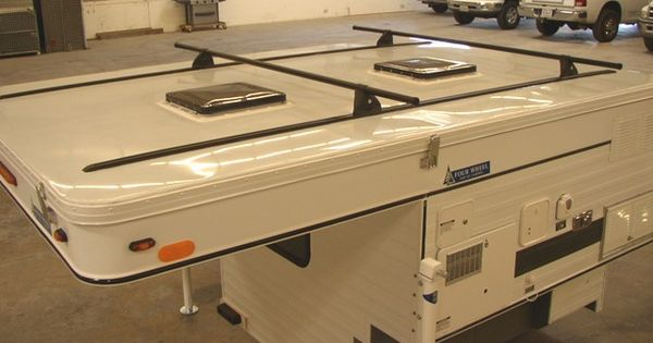 Yakima Roof Box >> Four Wheel Campers - Exterior Features [Yakima roof racks shown here] | travel - campers ...