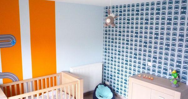 Ferm living 39 rush hour 39 behang uit mijn zoon zijn kamer for Car themed living room