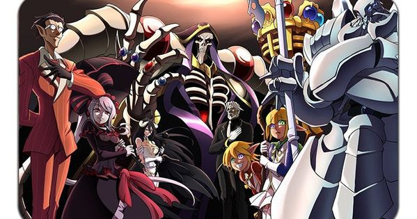 Overlord Anime Playmat Mousepad 24 X 14 Inches In 2021 Overlord anime wallpaper iphone
