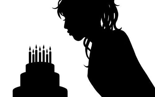 lucy silhouette un anniversaire c est toujours une occasion de plus pour manger un svg. Black Bedroom Furniture Sets. Home Design Ideas