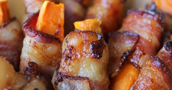 Bacon Wrapped Sweet Potato Fries {Paleo, AIP) - Predominantly Paleo ...