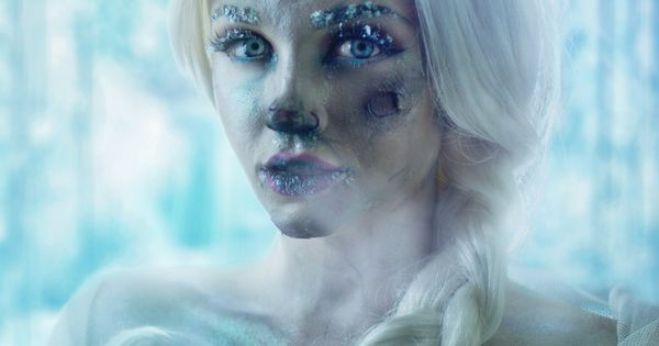 Frozen Elsa Makeup For A Tutorial On This Look Visit Www
