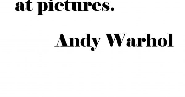 brief look at andy warhol Biography of warhol from the family website of andy warhol, containing rare  photos and  every opportunity andy had he would do quick, on-the-spot  sketches of the customers  these early pop paintings had a loose, unfinished  look.