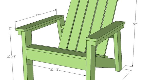 Ana white build a home depot dih workshop adirondack for Easy chair designs