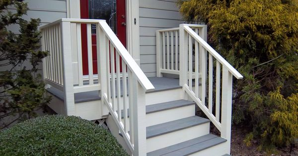 Best Alternative To Replacing The Concrete Steps Use Wood 400 x 300